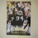 1995 Pinnacle Anthony Smith Oakland Raiders #58
