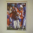 1993 Fleer Jon Vaughn New England Patriots #191