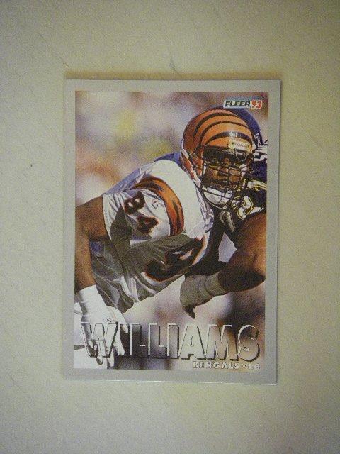 1993 Fleer Alfred Williams Bengals #167