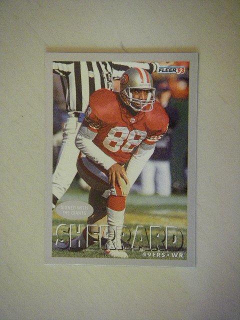 1993 Fleer Mike Sherrard #169