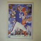 1993 Fleer Frank Reich Buffalo Bills #170