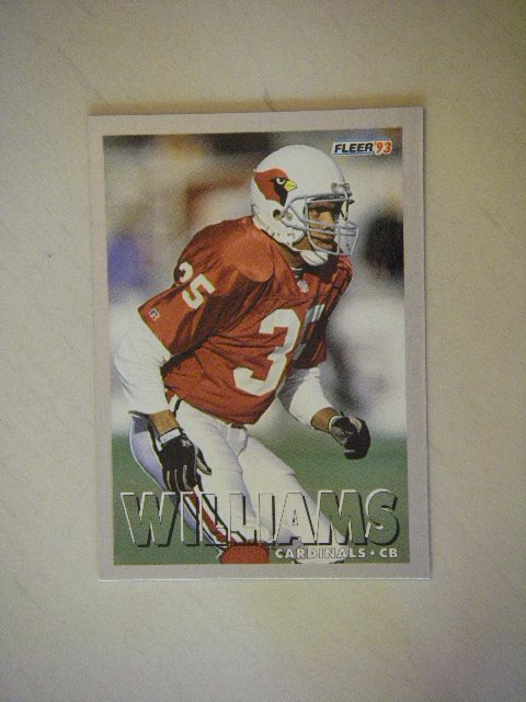 1993 Fleer Aeneas Williams Cardinals #185