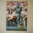 1991 Topps Stadium Club Seth Joyner Philadelphia Eagles #92