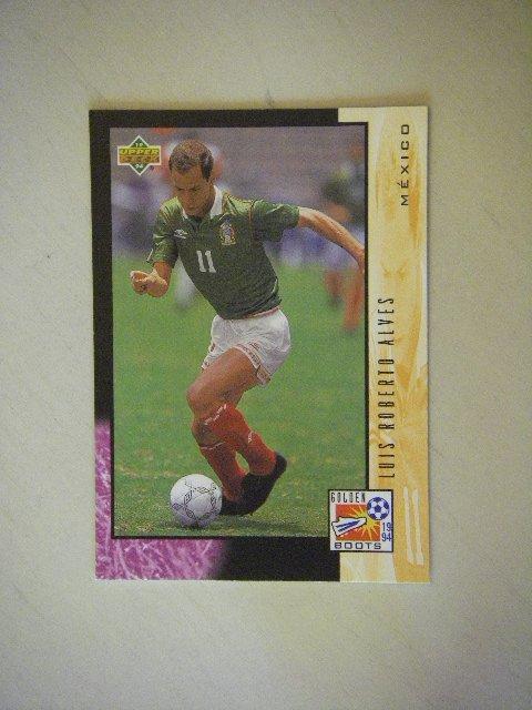 1994 Upper Deck Golden Boots Luis Roberto Alves #329