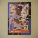 1987 Donruss Barry Bonds Pirates 326