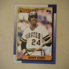 1990 Topps Barry Bonds Pirates 220