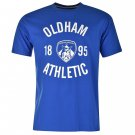 Team Mens Oldham Crew T Shirt Short Sleeves Tee Top Cotton