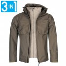 Karrimor Mens Tycon3in1 Jacket Long Sleeve Coat Top Outerwear Clothing