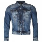 Pepe Jeans Mens Rooster Jacket Long Sleeve Casual Button Denim Outdoor