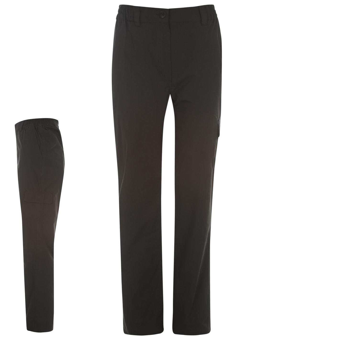 Gelert Womens Rocky Trousers Pants Ladies Elastic Waist Pockets Zip Fly