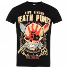 Band Tee Mens Finger Death Punch T Shirt Crew Neck Short Sleeves Cotton Tee Top