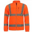Dunlop Hi Viz Fleece Jacket Mens