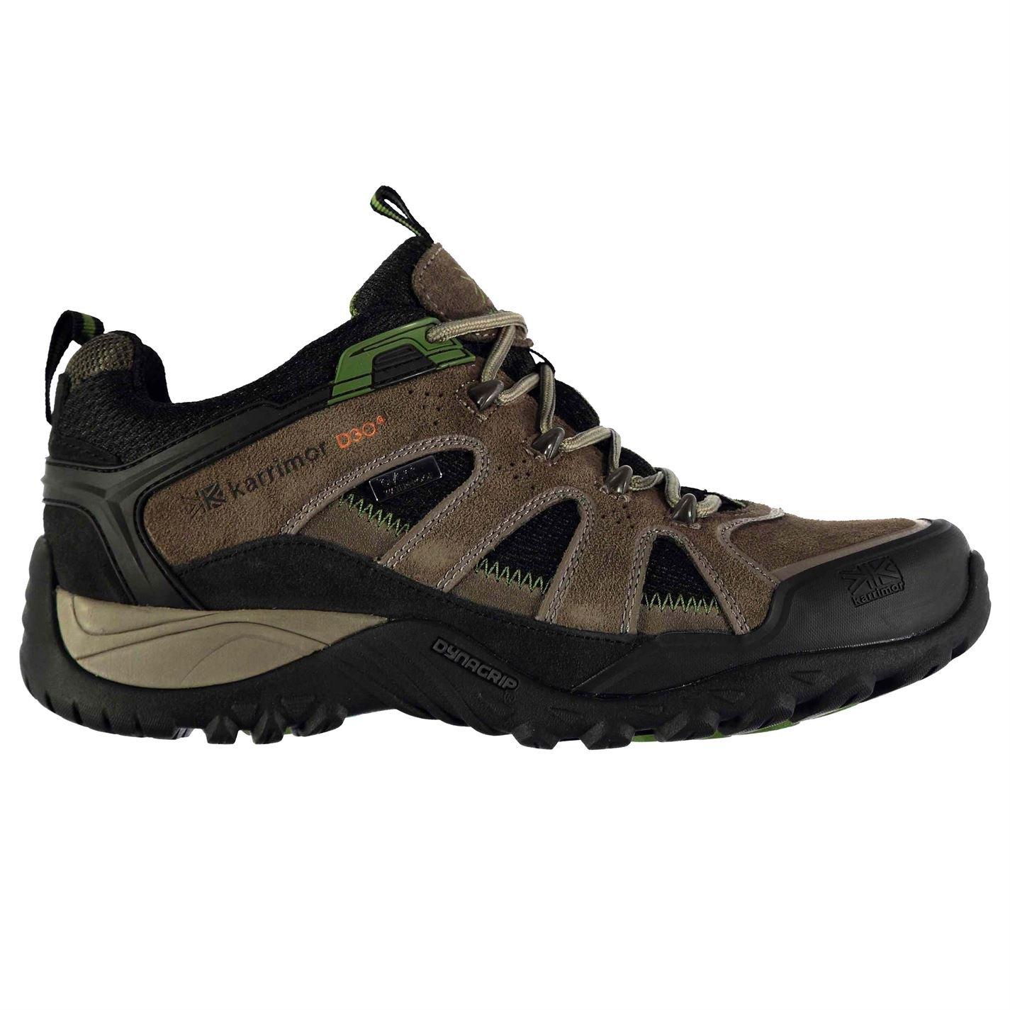 Karrimor Mens Ridge Walking Shoes Waterproof Lace Up Padded Insole Footwear