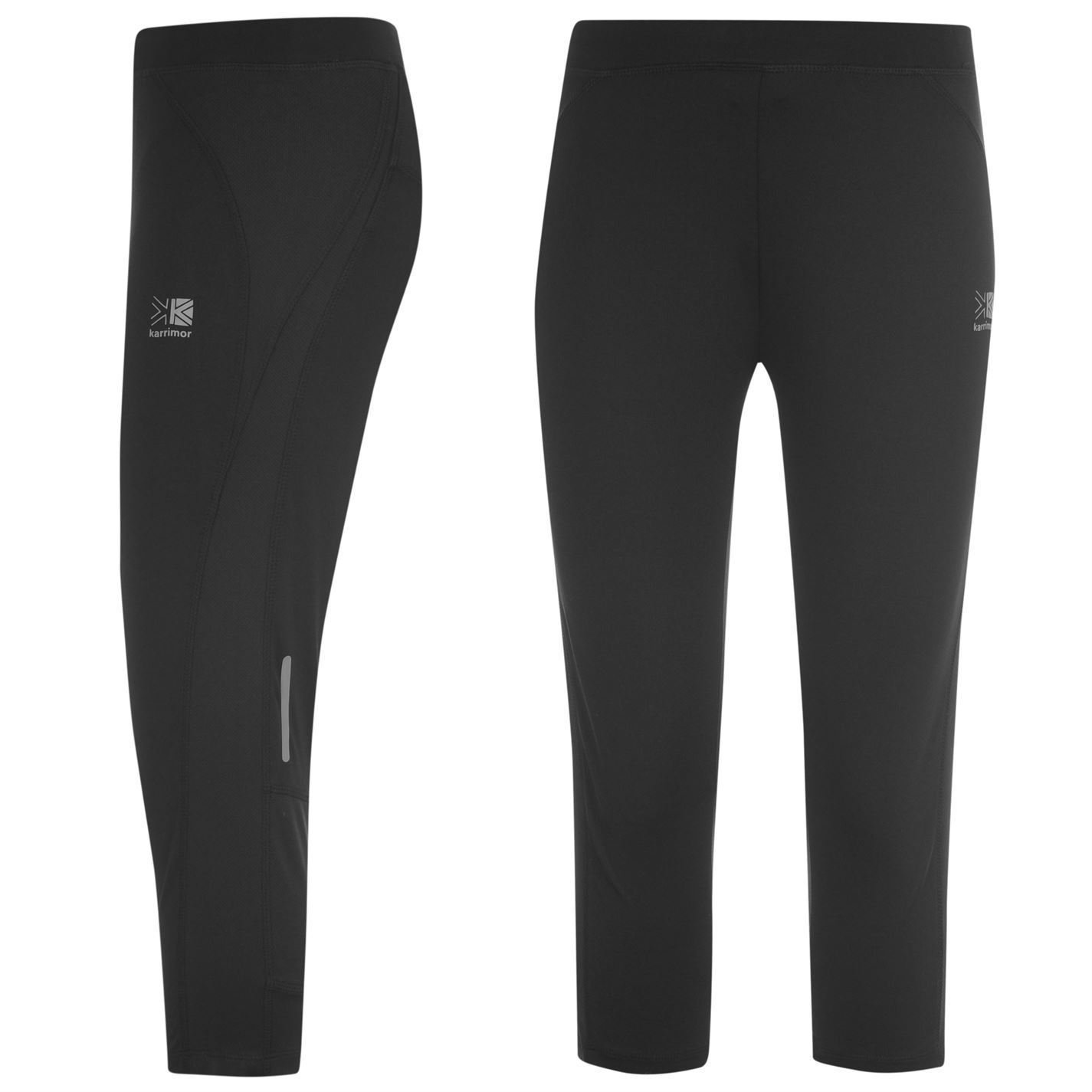 Karrimor Womens Run Capri Tights Ladies Training Jogging Sport Activewear
