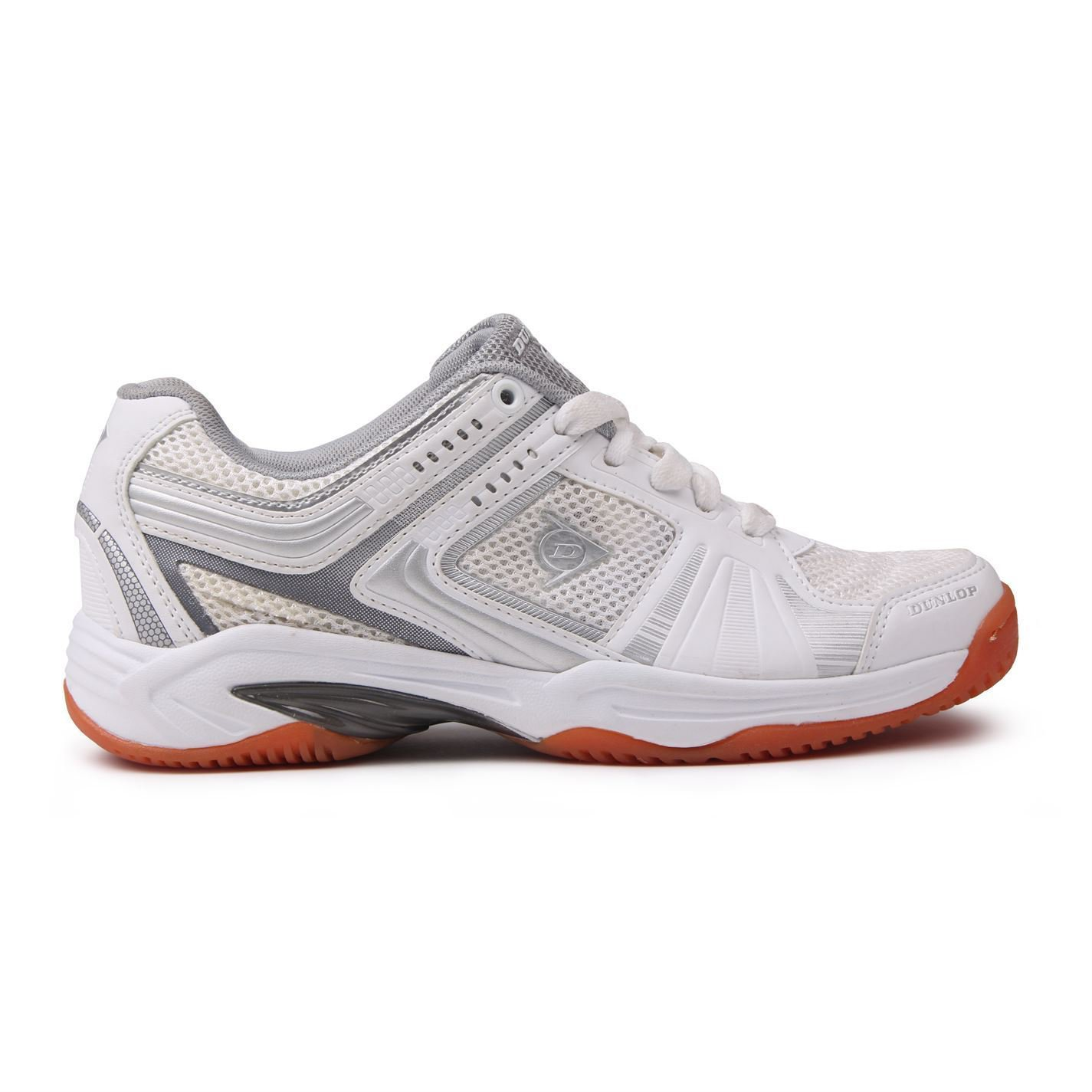 Dunlop Women Ladies Sports Training TPU Arch Lightweight Stable Squash Shoes New