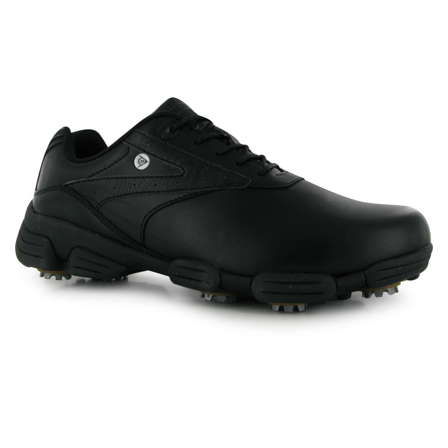 Dunlop Mens Biomimetic 100 Golf Shoes Spike Lace Up Sports Trainer Footwear