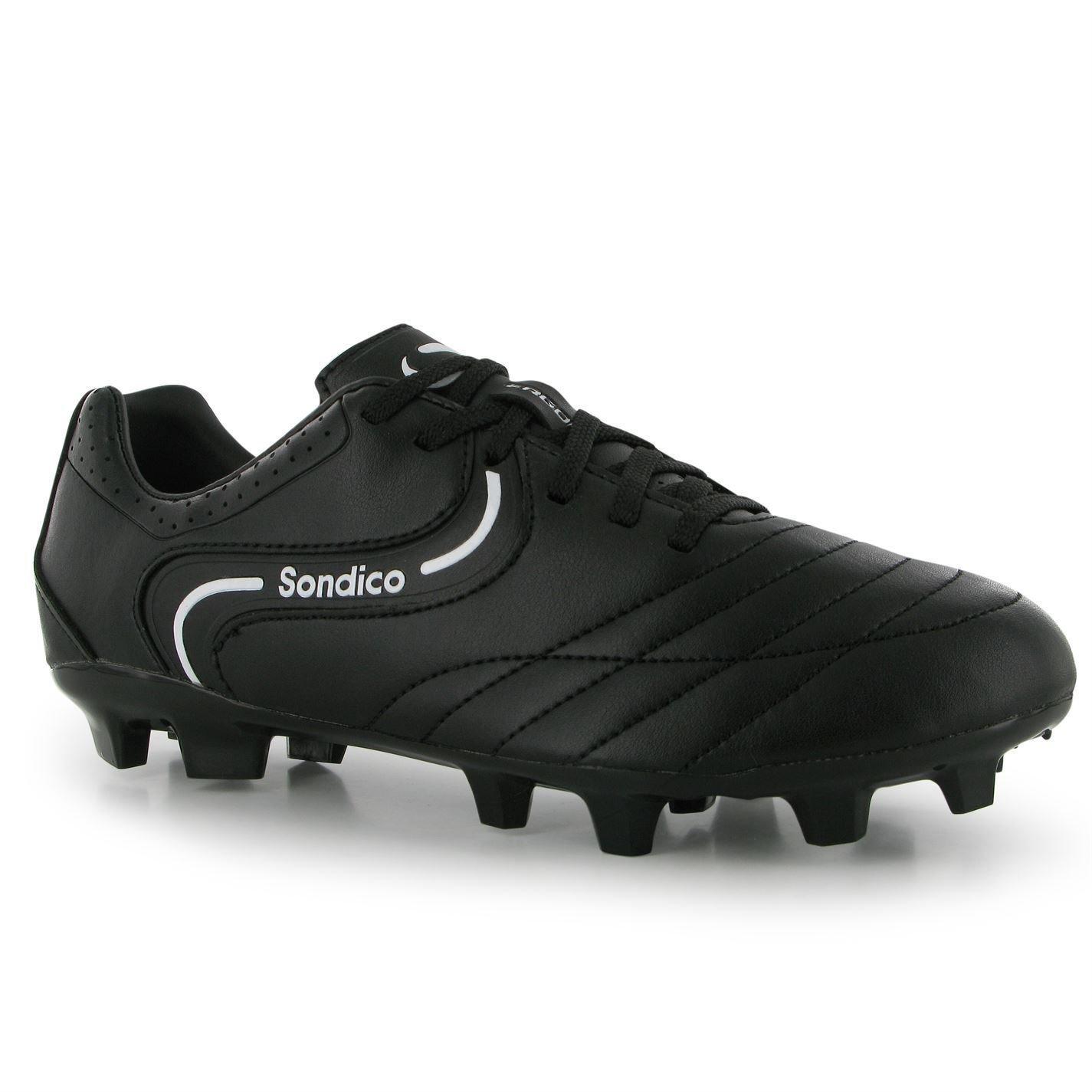 Sondico Mens Strike Ii Fg Football Boots Sports Laced Shoes Footwear