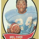 1970 Topps Mel Farr No. 52