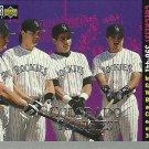 1996 Collector's Choice Andres Galaragga, Larry Walker, Dante Bichette, Vinny Castilla No. 753