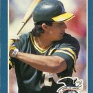 1989 Donruss Jose Canseco No. 2