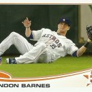 2013 Topps Brandon Barnes No. 654 RC