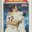 1991 Score Carlton Fisk No. 421