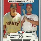 2007 Topps Trading Places Shea Hillenbrand No. TP19