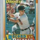 1990 Topps Cal Ripken Jr. No. 8