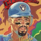 1993 Donruss Diamond Kings Greg Vaughn No. DK-20