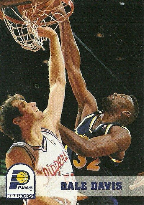 1994 NBA Hoops Dale Davis No. 84