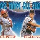 1993 Topps Travis Fryman, Barry Larkin No. 404
