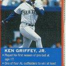 1997 Pinnacle Wheaties Cereal Box Ken Griffey Jr.