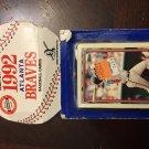 1992 Topps Team Set Atlanta Braves