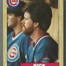 1987 Topps Rick Sutcliffe No. 142