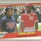 1989 Fleer Kirby Puckett, Eric Davis No. 639