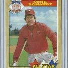 1987 Topps Mike Schmidt No. 597