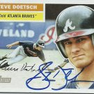 2005 Topps Heritage Steve Doetsch No. 172 RC Autograph
