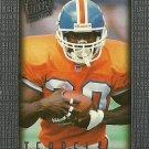 1996 Fleer Ultra Sensations Terrell Davis No. 30 Silver