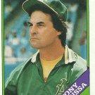 1988 Topps Tony La Russa No. 344