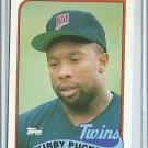 1989 Topps Kirby Puckett No. 650