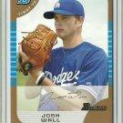 2005 Bowman Draft Picks Josh Wall No. BDP37 RC