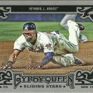 2013 Topps Gypsy Queen Sliding Stars Jason Heyward No. SS-JH