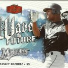 2006 Flair Showcase Wave of the Future Hanley Ramirez No. WF-13