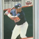 1989 Fleer Kirby Puckett No. 124