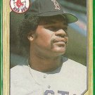 1987 Topps Dave Henderson No. 452