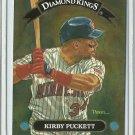 1992 Donruss Diamond Kings Kirby Puckett No. DK-4