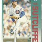 1992 Fleer Rick Sutcliffe No. 393