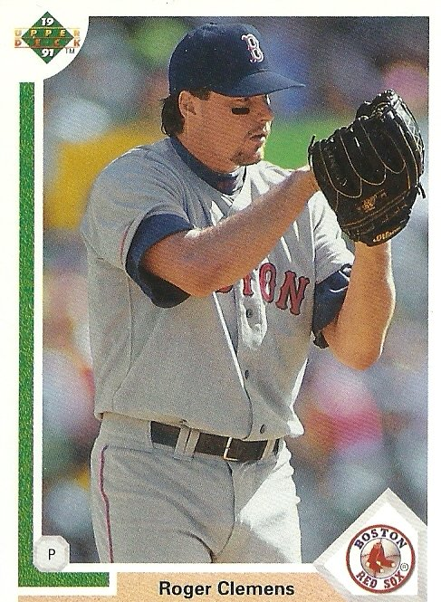 1991 Upper Deck Roger Clemens No. 655