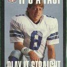 1994 NFL It's A Fact Troy Aikman No. 1