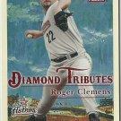 2005 Fleer Diamond Tributes Roger Clemens No. 7 of 25DT